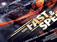 Fast & Furious Party Flyer