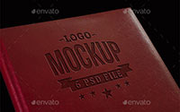 Logo Mockup - Pressed Leather