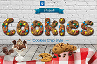 Cookies Text Effects
