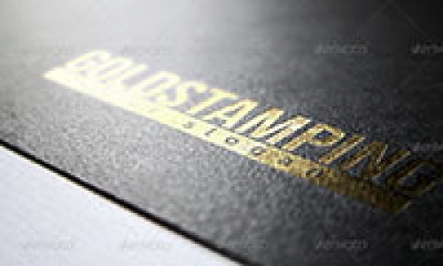 Gold Text Effects PSD