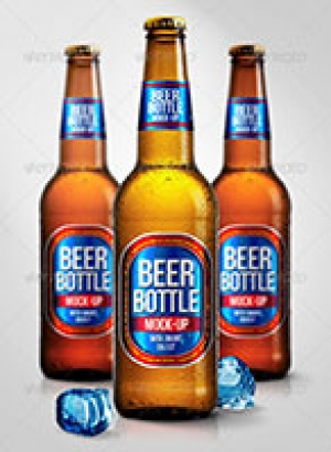 Beer Bottle Mock-Ups