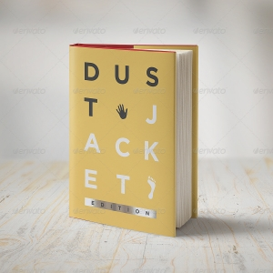 Book Mock-Up / Dust Jacket Edition