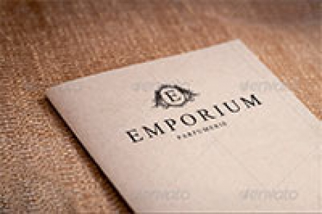 Elegant Paper - press Logo Presentation Mock-up