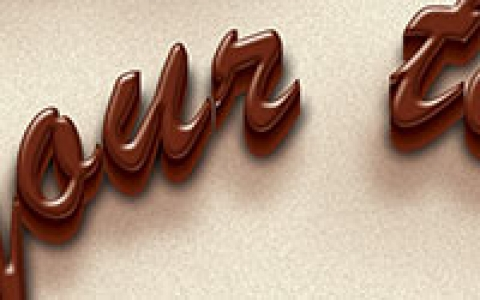 Chocolate Text Creator 3D