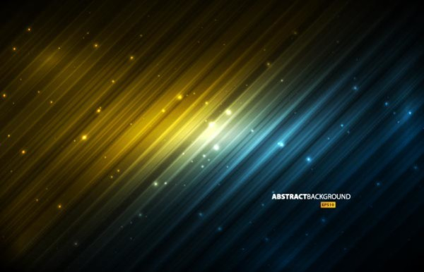 Vector abstract ray background