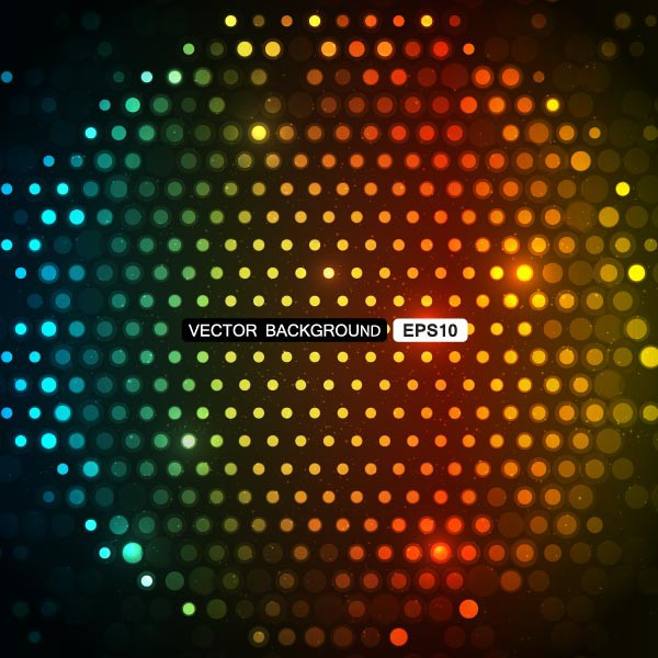 Vector colorful party background