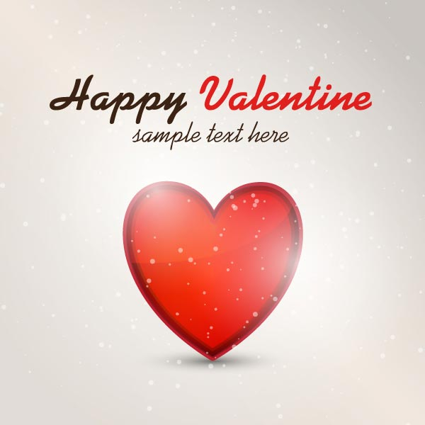 Vector Happy Valentine