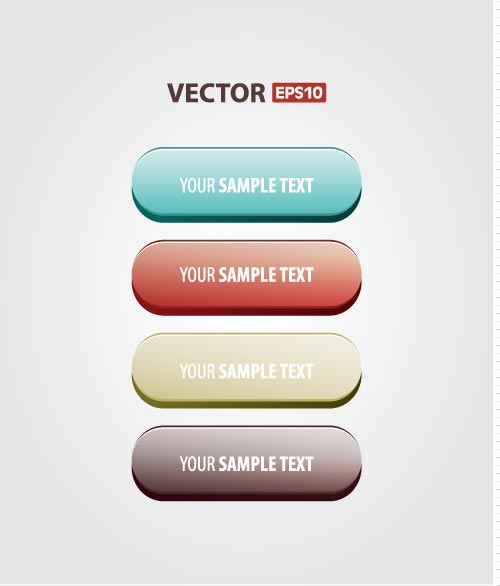 48-vector-buttons
