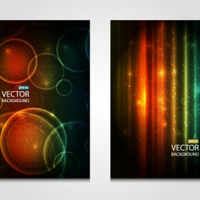 Vector abstract colorful backgrounds