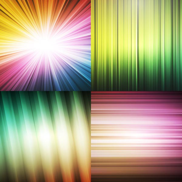 4 vector abstract backgrounds