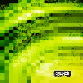 Vector grunge mosaic background