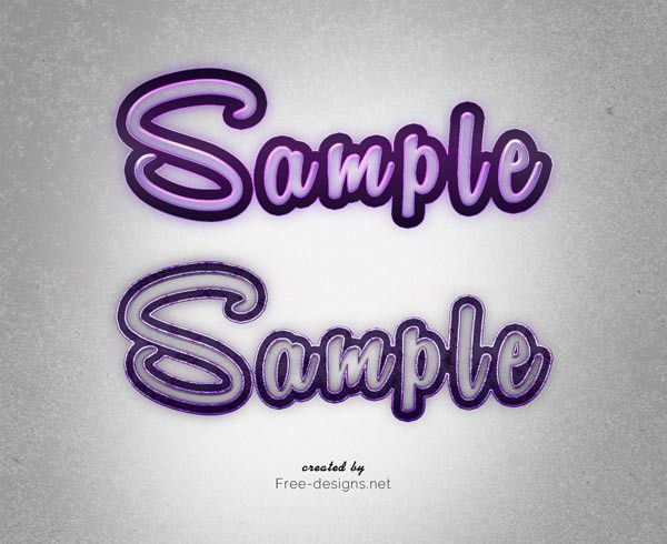 Photoshop Sweet Text Effects