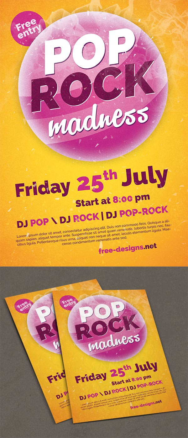 Photoshop Music Party Flyer