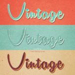 172-vintage-text-effects