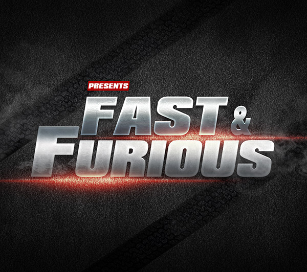 fast-furious-text-effect