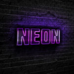purple-neon-text-effect