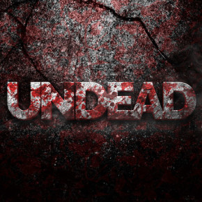Undead 3D PSD Text Effect