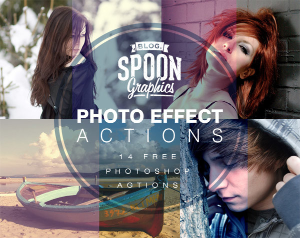14 Quality Photo Effect Photoshop Actions