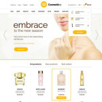 Shop eCommerce Free Website Template PSD
