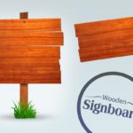 Free Wooden Signboards