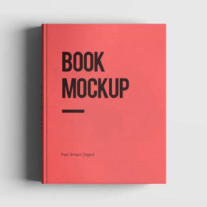 Book MockUp Free PSD Template
