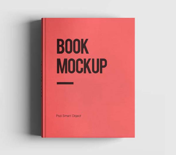 Book mockup psd template free mockups freedesigns book mockup free psd template pronofoot35fo Images