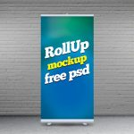 Rollup Mockup Free PSD
