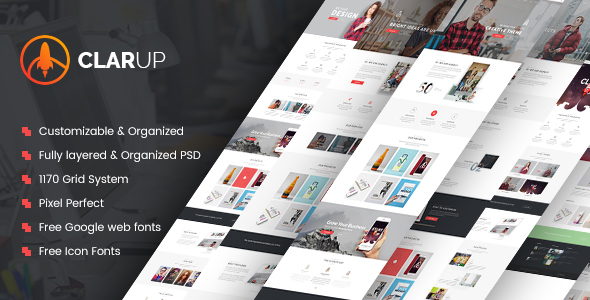 Creative Business HTML Template