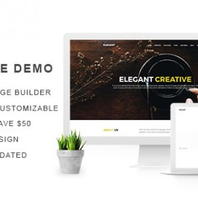 Elegant Creative Agency WordPress Theme