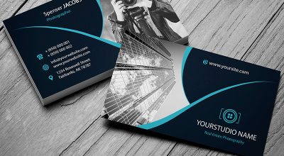 Free Photoshop Business Card Templates