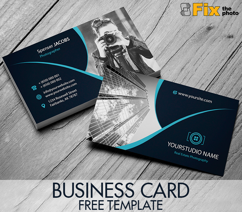 Free Photo Business Card Templates